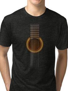 Full Guitar  Tri-blend T-Shirt