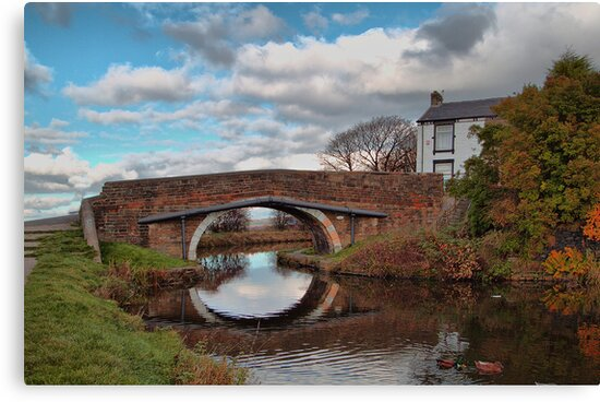 The Bridge at Church. by Irene  Burdell