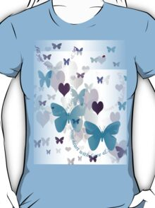 """""""Fill Your Heart with Love & Joy ..."""" T-Shirt"""