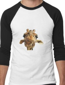 giraffe Men's Baseball ¾ T-Shirt