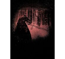 Bleached Kylo Ren Photographic Print