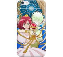 Shirayuki and Zen from Akagami no Shirayuki Hime iPhone Case/Skin