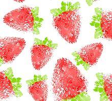 Strawberry Pattern by Rui Faria