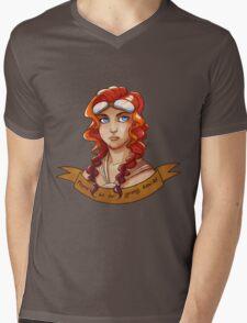 Capable Mens V-Neck T-Shirt