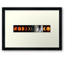 Total Solar Eclipse from Tórshavn Framed Print