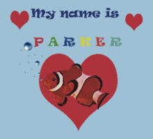 """My Name is Parker "" Kids Tee"