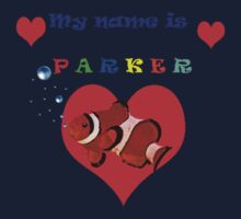 """My Name is Parker "" Baby Tee"