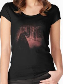 Bleached Kylo Ren Women's Fitted Scoop T-Shirt