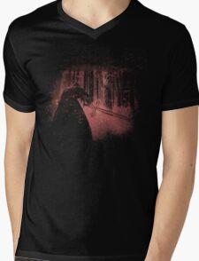 Bleached Kylo Ren Mens V-Neck T-Shirt