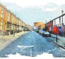 Northam Road - Southampton - uk by DARREL NEAVES