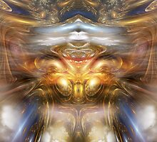 The Knowing One by Craig Hitchens - Spiritual Digital Art
