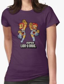 Super Lion-o Bros. Womens Fitted T-Shirt
