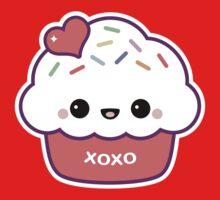 Cute Love Cupcake One Piece - Long Sleeve