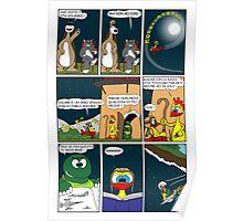 "Rick the chick  ""THE MAGIC SHELL (ITALIANO) parte 16"" Poster"