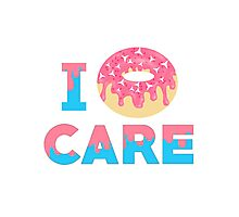 Pastel I Donut Care Photographic Print