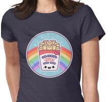 Rainbow Fries Womens Fitted T-Shirt