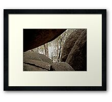 View from the Old Galleries Framed Print
