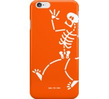 Frightened Skeleton iPhone Case/Skin