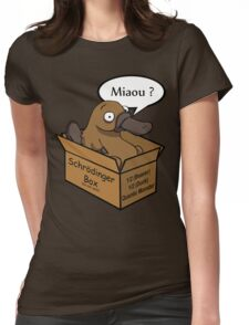 Logo Platypus Womens Fitted T-Shirt