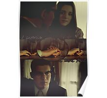 Kate Fuller and Richie Gecko (hands) Poster