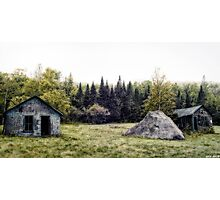 Rustic Remnants Photographic Print