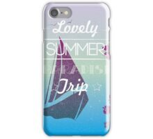 Lovely summer paradise trip iPhone Case/Skin