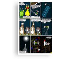 """Rick the chick  """"THE MAGIC SHELL (La barriera del suono) parte 17"""" Canvas Print"""