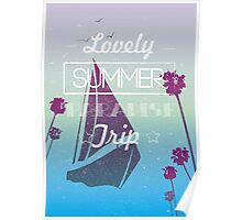 Lovely summer paradise trip Poster
