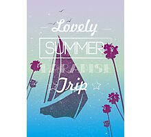 Lovely summer paradise trip Photographic Print