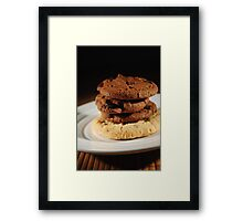 Cookies of a time  Framed Print
