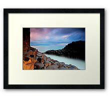 Giants Causeway - Fingal Headland Framed Print