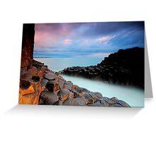 Giants Causeway - Fingal Headland Greeting Card