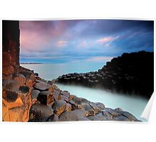 Giants Causeway - Fingal Headland Poster
