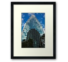 Reflection Puzzle Framed Print