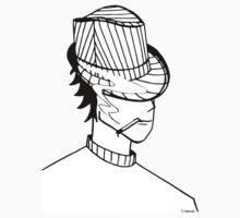Sensei au chapeau (Aikidrôle) Baby Tee