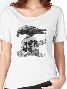 The Expendables (Design Distort Motif) Women's Relaxed Fit T-Shirt