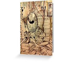 Of Mice And Moon Greeting Card