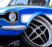 Ford Escort (Mk1) RS2000 Blue Sticker