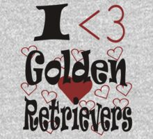 I <3 Golden Retrievers by veganese