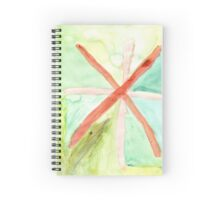 Faded Cross Spiral Notebook