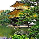 Golden Pavilion - Kyoto (Japan)  by Juergen Weiss