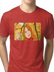 Colours Of Autumn Tri-blend T-Shirt