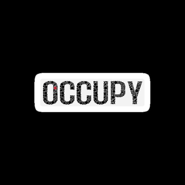 Occupy Sticker by slicepotato