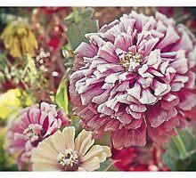Frozen Flowers by daskar