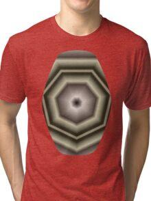 Polygon Auras in CMR 03 Tri-blend T-Shirt