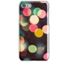 Christmas Bokeh Lights iPhone Case/Skin