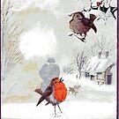 robins by Jim Mathews