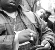 The Notorious B.I.G / Biggie Smalls Sticker