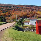 Capstick Village, Cape Breton Island by Jann Ashworth