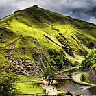 Dovedale, Thorpe Cloud Stepping Stones by Darren Burroughs
